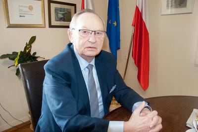 Jan Żukowski, wójt gminy Żórawina