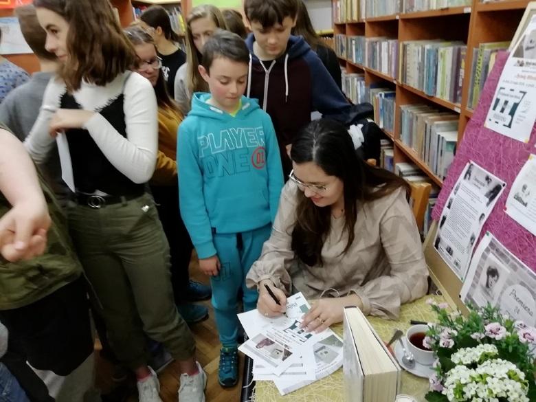 #biblioteka i Sylwia Winnik