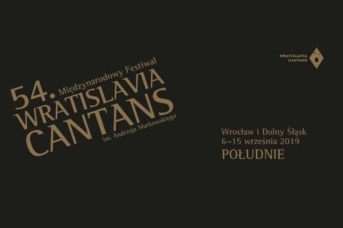 54. Międzynarodowy Festiwal Wratislavia Cantans