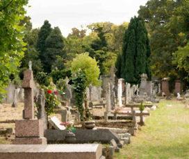 NIK na cmentarzach